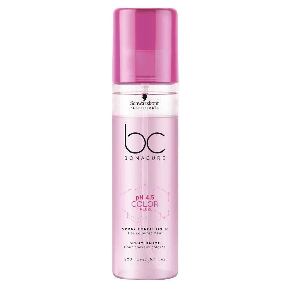 Schwarzkopf BC Bonacure pH 4.5 Color Freeze Spray Condicionador - Leave-In 200ml