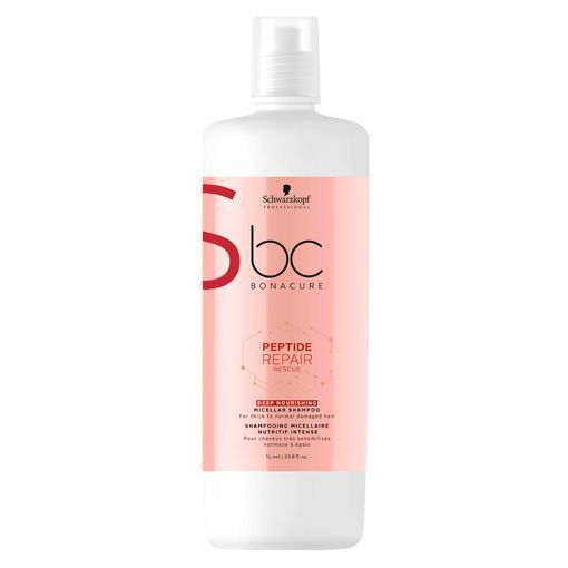 Schwarzkopf BC Repair Rescue Shampoo Deep Nourishing 1000ml