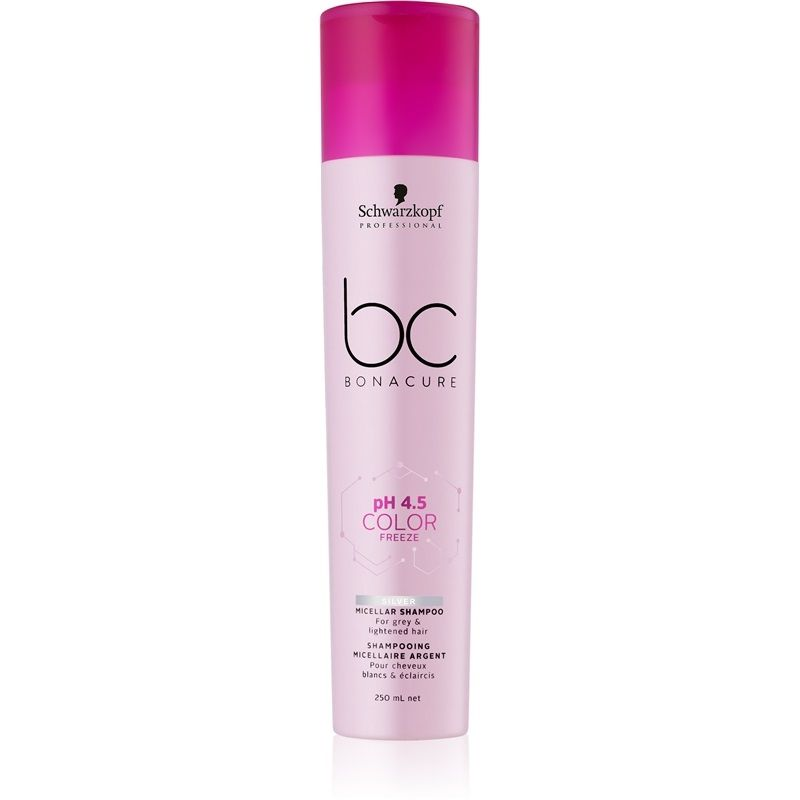 Schwarzkopf Professional BC Bonacure Color Freeze Silver - Shampoo 250ml