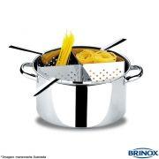 Espagueteira Inox com 4 Divisões - Brinox