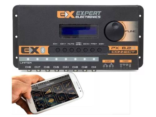 Processador Audio Expert Digital Px8.2 Hi Connect Bluetooth