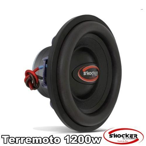 Subwoofer 15 Ultravox Shocker Terremoto 1200 W Rms 2x2 Ohms
