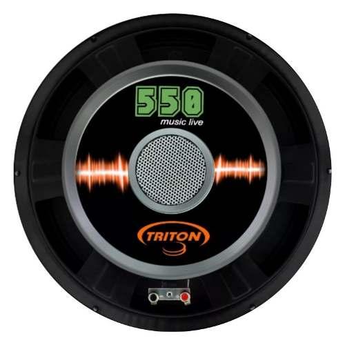 Alto Falante Woofer Triton 550 W Rms 12 8 Ohms Music Live