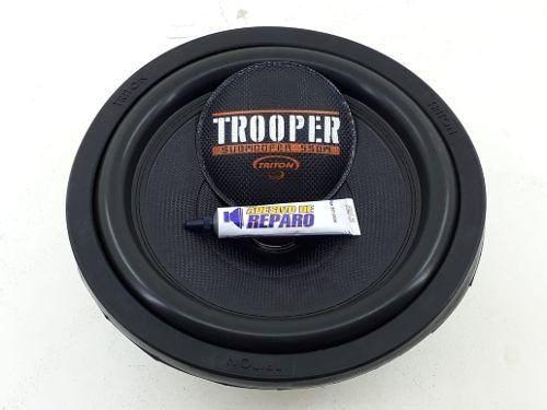 Kit Reparo Subwoofer Triton Trooper 550 12pol 4ohms Original