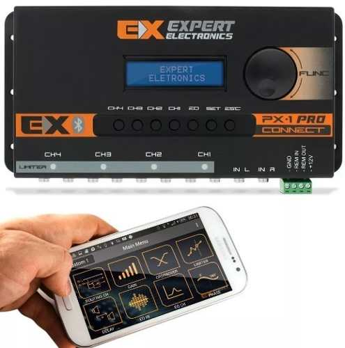 Expert Crossover Processador Digital Px1 Connect Bluetooth