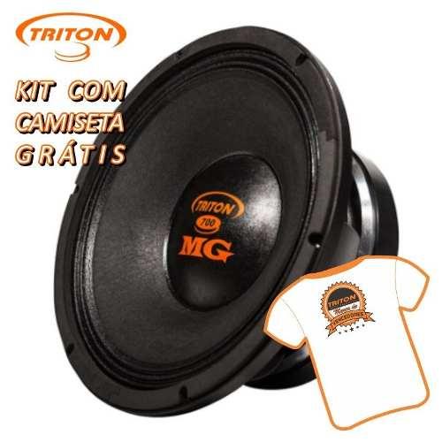 Alto Falante Woofer Triton Mg 700 700 W Rms 12 4 Ohms Médio