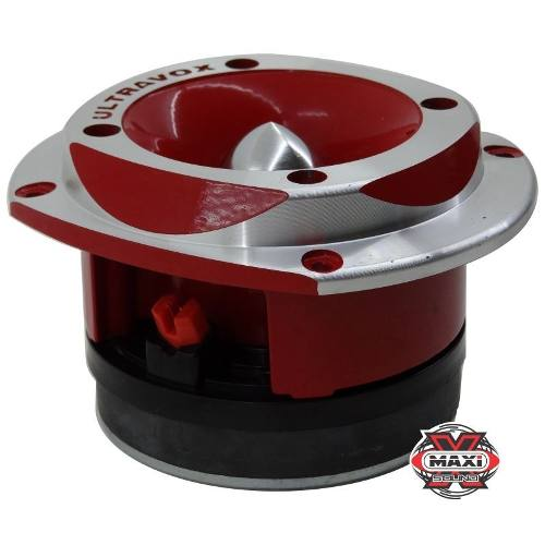 Super Tweeter Profissional Ultravox Aluminio Utx400 Red Top