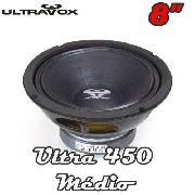Falante Medio Woofer Ultravox Ultra 450 8 Polegadas 8 Ohms