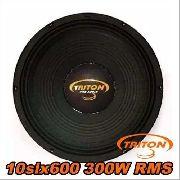 Woofer Triton 10 Polegadas 300w Rms 10-slx600 8 Ohms 600w