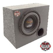 Sub Woofer Triton Street 200 W Rms 8 polegadas 4 Ohms + Caixa Carpete