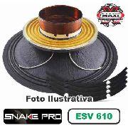 Kit Reparo Snake Pro Esv 610 10 8 Ohms 300w Original + Cola