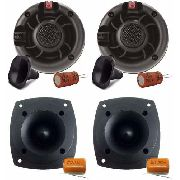 Kit Com 2 Driver E 2 Super tweeter Triton Light 100w Rms Cada