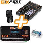 Kit Expert Processado Px8.2 Com Mesa Mx1 Controle Voltimetro
