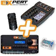 Kit Expert Processador Px1 Com Mesa Mx1 Controle Voltimetro