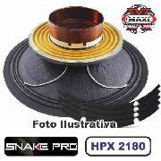 Kit Reparo Snake Pro Hpx 2180 18 Pol 4 Ohms 1000w Original