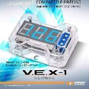 Mini Voltimetro Expert Vex1.0 Digital Automotivo Led Azultop