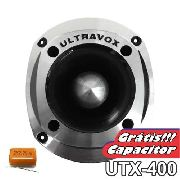 Super Tweeter Profissional Ultravox Aluminio Utx400 100 Wrms