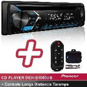 Cd Player Pioneer Deh-s1080ub Usb + Controle Longa Taramps