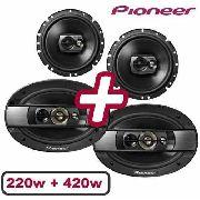 - Kit Falante Pioneer 6 220w Triaxial 6x9 420w Quadriaxial