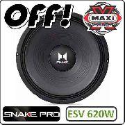 Alto Falante Snake Pro Esv620w 400 Rms 12 Polegadas 4 Ohms
