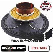 Kit Reparo Snake Pro Esx 608 8 8 Ohms 300w Original + Cola