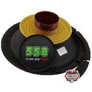 Kit Reparo Alto Falante Triton 550 W Rms 12 8 Ohms Original