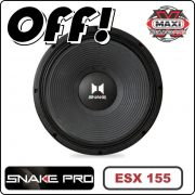 Falante Boca 15 Woofer Snake Pro Esx 155 600w 15 polegadas 8 Ohms