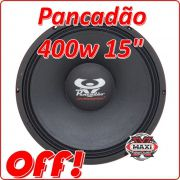 Ultravox Woofer Pancadão 400 W 15 Polegadas 4 Ohms