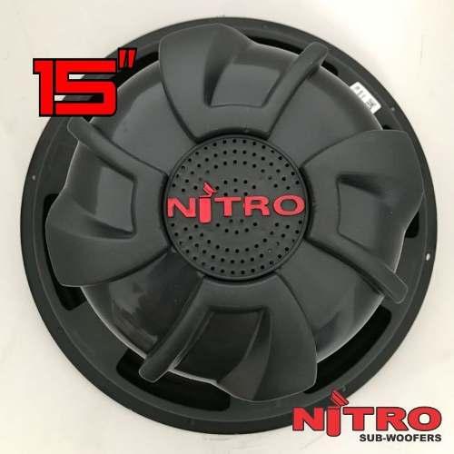Subwoofer Spyder Nitro G5 15 Polegadas 700 W Rms 4 Ohms