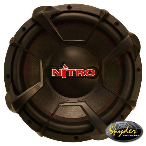 Subwoofer Spyder Nitro G5 12´´ 700w Rms 2x4 Ohms Grátis Tela