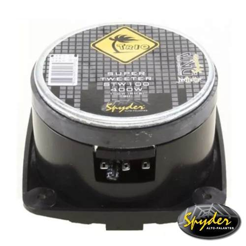Super Tweeter Automotivo Spyder Stw200 Pro 100w Rms 8 ohms
