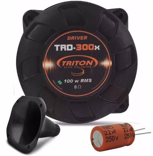 Driver Triton Trd-300x 100w Rms Gratis Capacitor E Bocal