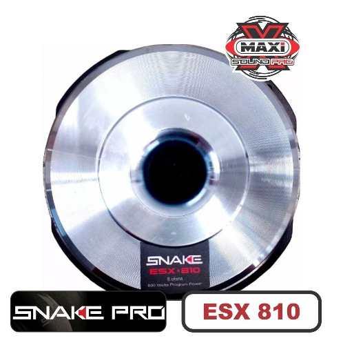 Falante Snake Pro Esx 810 400w 10 800w 8 Ohms Woofer