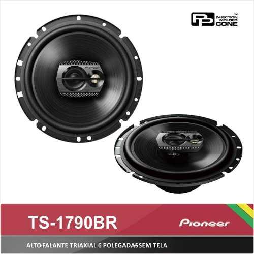 Par Alto Falante 6 Pioneer Ts-1790br 220w 60w Rms Triaxial
