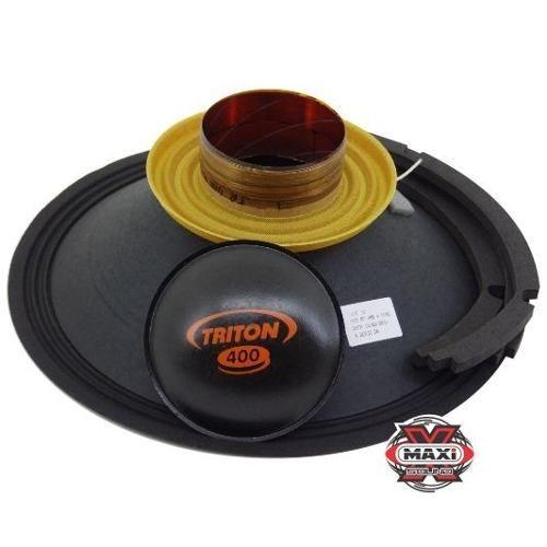 Kit Reparo Alto Falante Triton 400 W Rms 12 4 Ohms Original