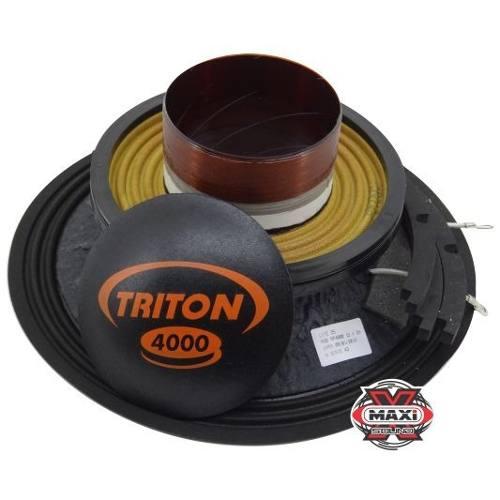 Kit Reparo Alto Falante Triton 4000 W Rms 12 2 Ohms Original