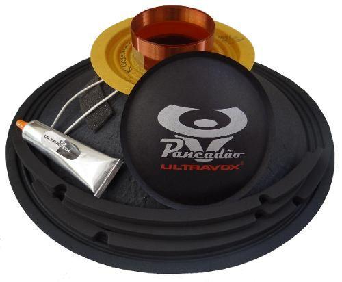 Kit Reparo Falante Ultravox Pancadão 12 400 W 8ohms Original