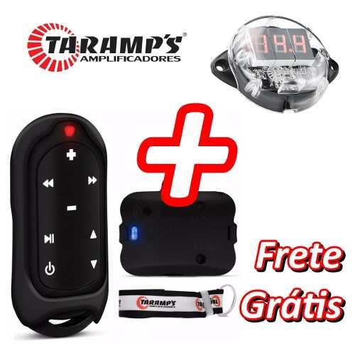 Controle Longa Distância Taramps Tlc 3000 + Mini Voltimetro
