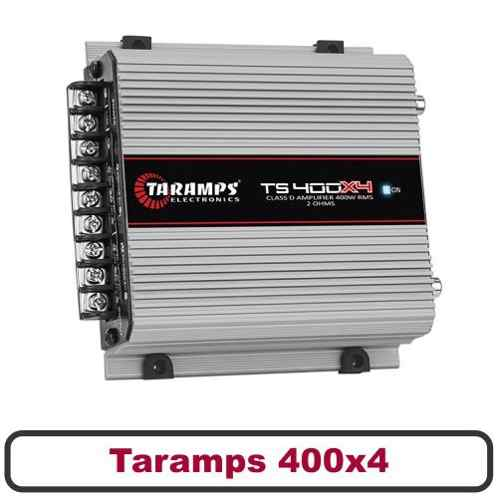 Kit Taramps 400x4 + Pioneer De 6 Triaxial E 69 Quadriaxial