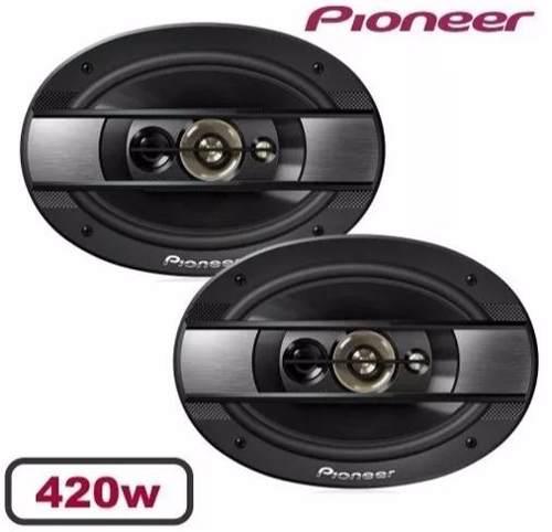 Kit Falante Pioneer 2 Vias 220w E 6x9 420w Quadriaxial 6990