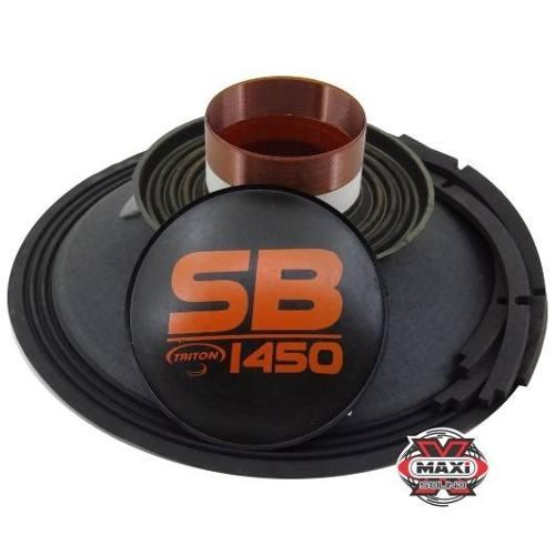 Kit Reparo Auto Falante Triton Sb 1450 15 4 Ohms Original