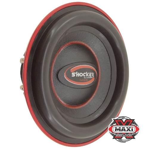 Subwoofer Shocker Twister 750 W Rms 2+2 Ohms 12
