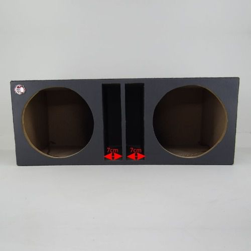 Caixa De Som Dupla Spyder 400 Rms 12 Polegadas Completa