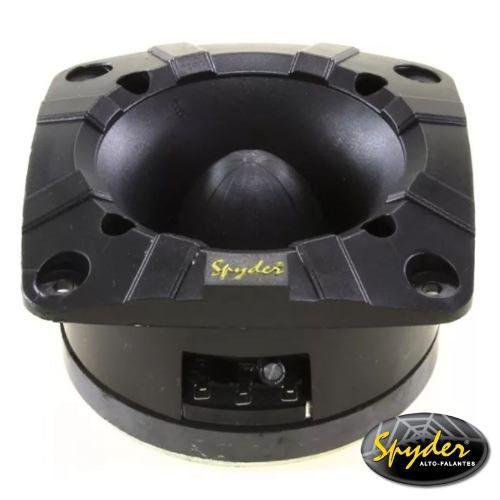 - Caixa Trio Spyder 400 Rms + Driver Tweeter + Modulo Taramps