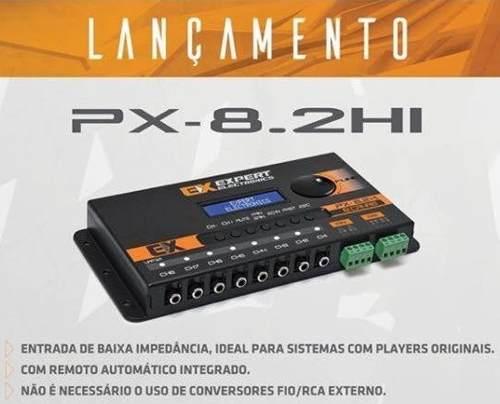 Expert Crossover Equalizador E Processador Digital Px8.2 Hi