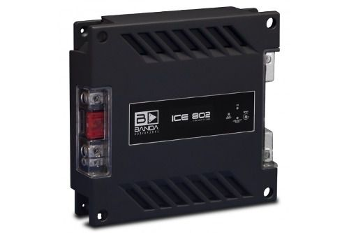 Kit De Som Módulo Banda 250.2 Ice 802 Controle E Voltimetro