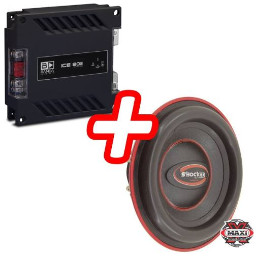 Kit Shocker Twister 750 Rms 12 Polegadas + Banda Ice 802
