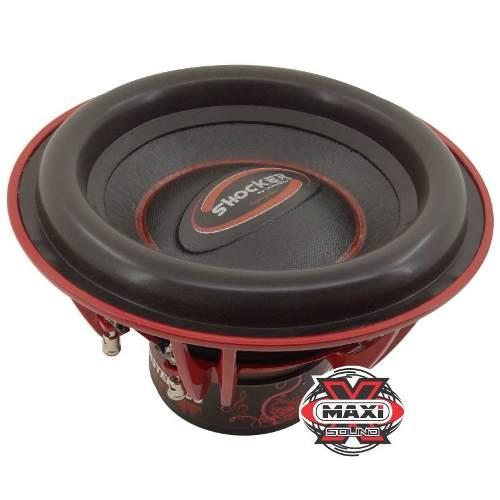 Kit Shocker Twister 750 Rms 12 Polegadas + Banda Ice 802
