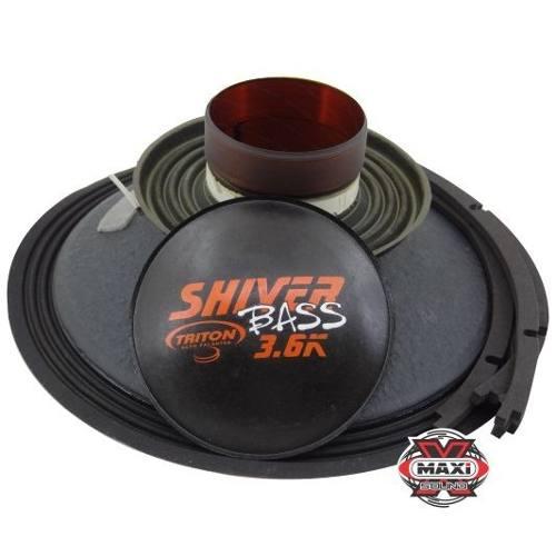 Kit Reparo Triton Shiver Bass 1800 15 Pol 4 Ohms Original