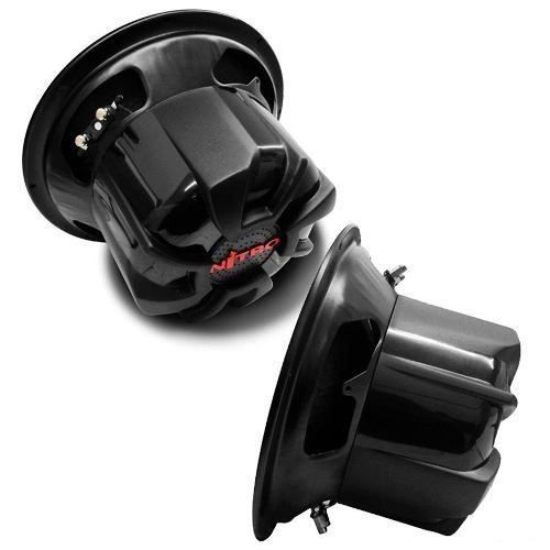 Subwoofer Spyder Nitro G5 12 Pol 700w Rms 2x4 Ohms Vermelho